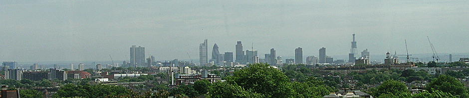 London Skyline from Archway