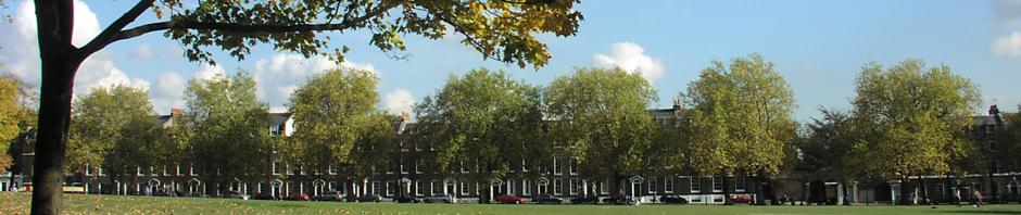 Highbury Place along Highbury