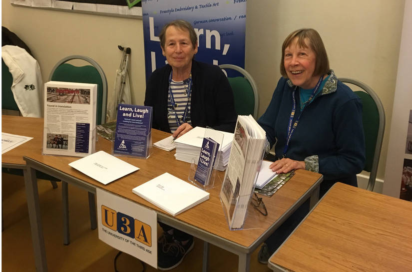 Finchley Pensioners Information and Advice Fayre 26th October 2018