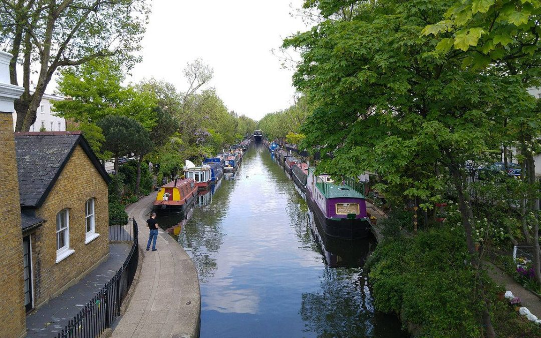 Regent Canal – the dark side