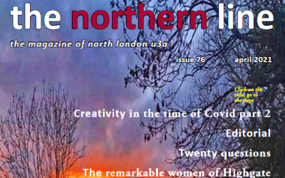 the northern line – April issue