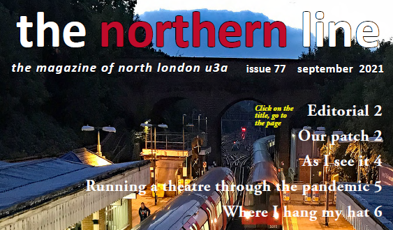 The Northern Line – Sept issue